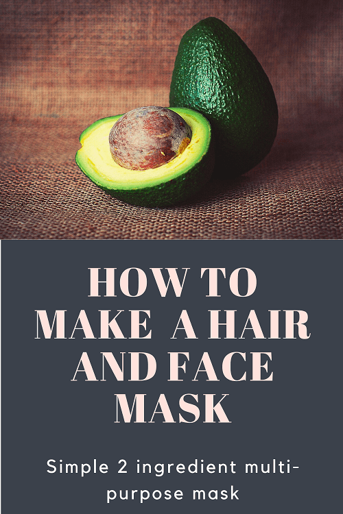 Homemade Avocado Mask for Hair and skin
